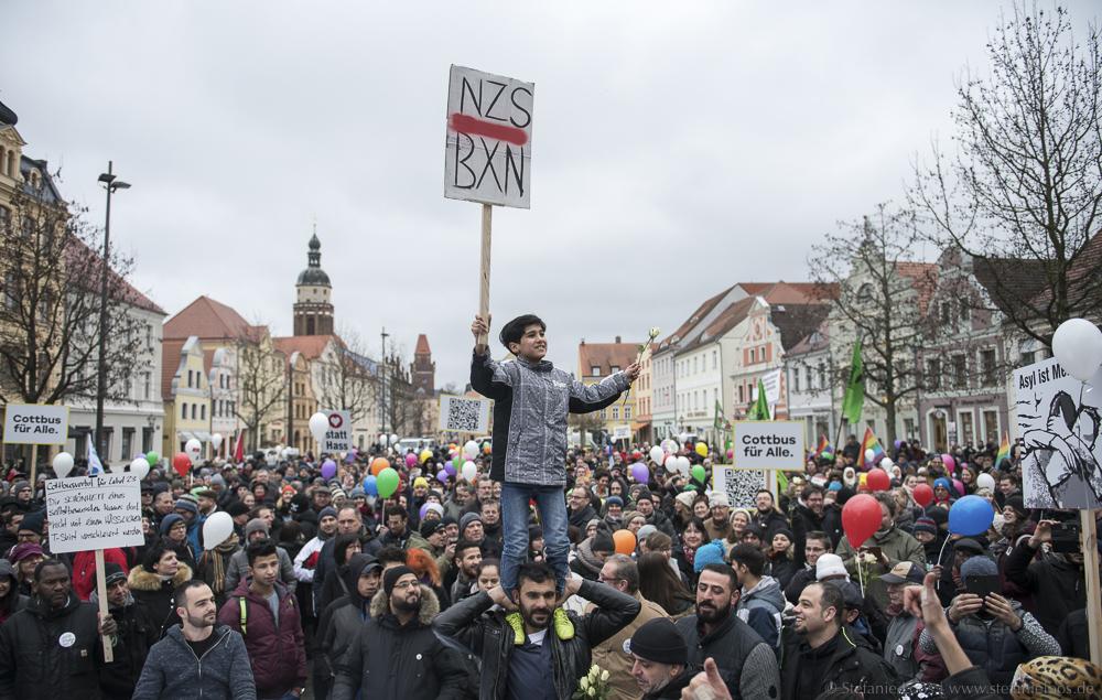 "Demonstration ""Leben ohne Hass"""