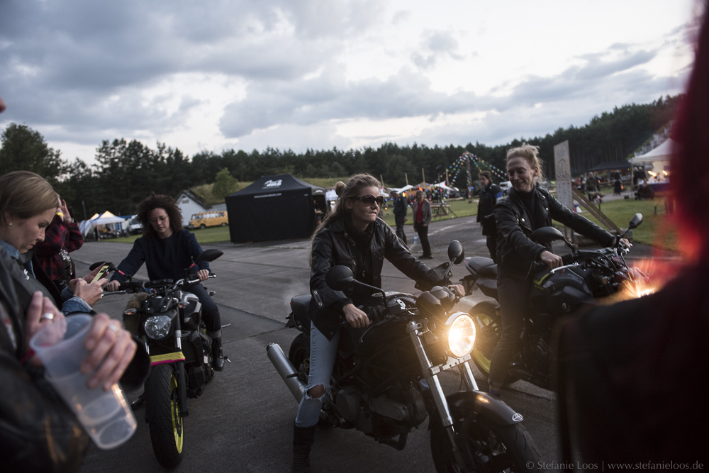 Women-only Motorcycle Festival Petrolettes