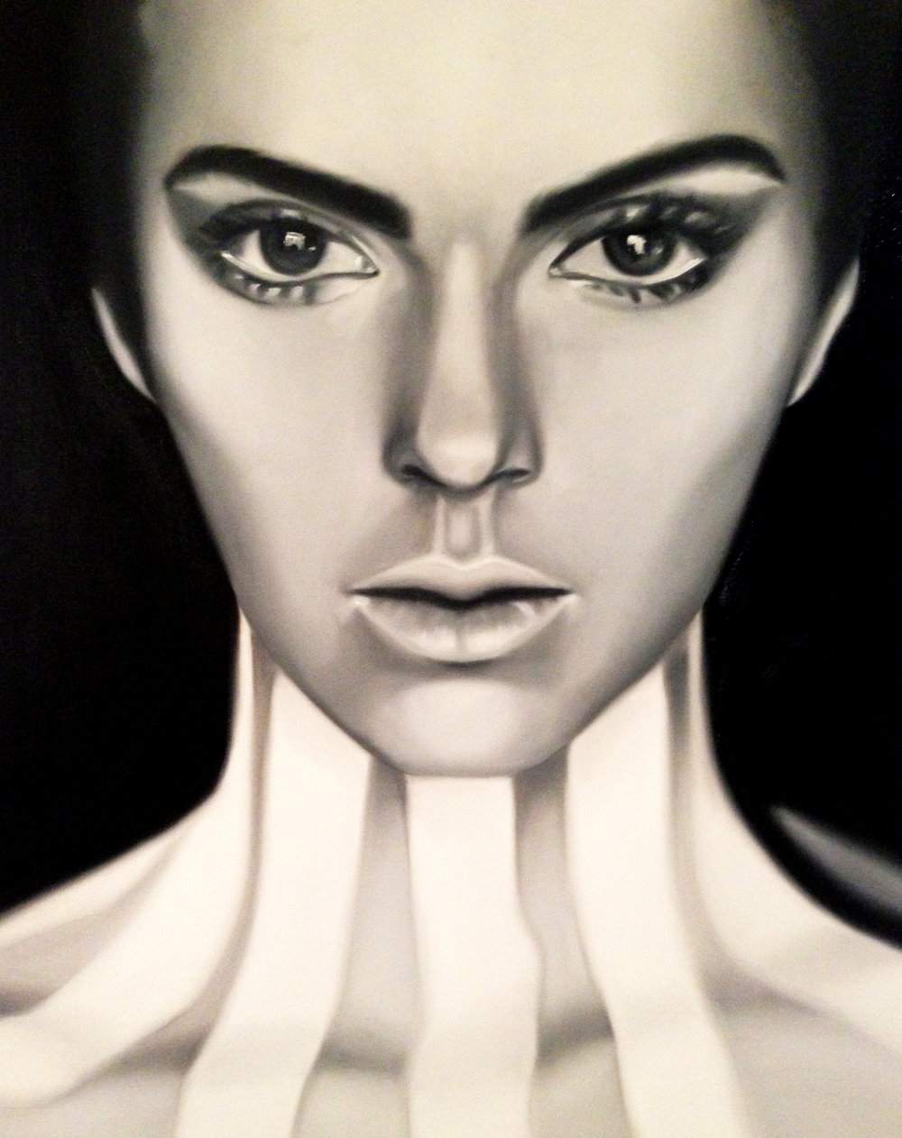 POP, oil on canvas, 75 x 90 cm.  Prints.