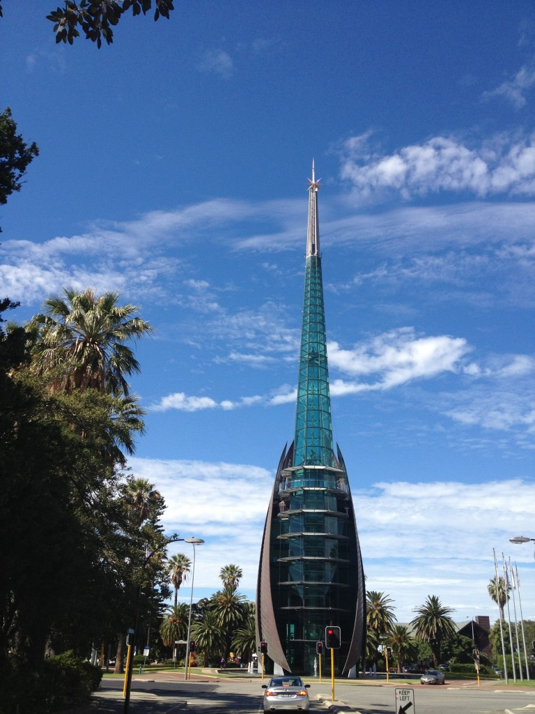 Perth Bell Tower? or building from the set of Star Trek?