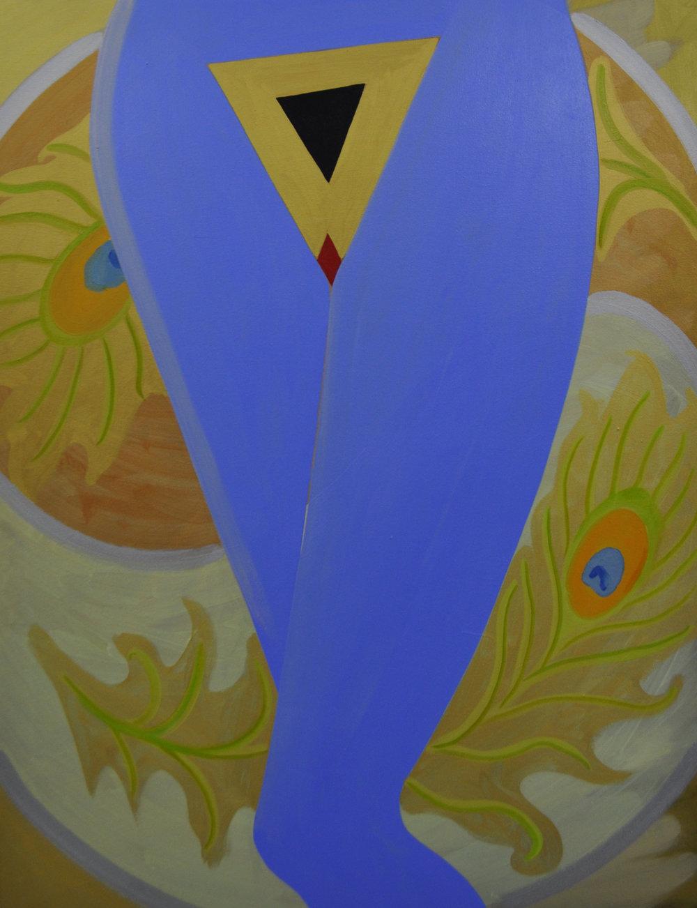 Holy Trinity  2016 Oil on canvas 130 x 100cm