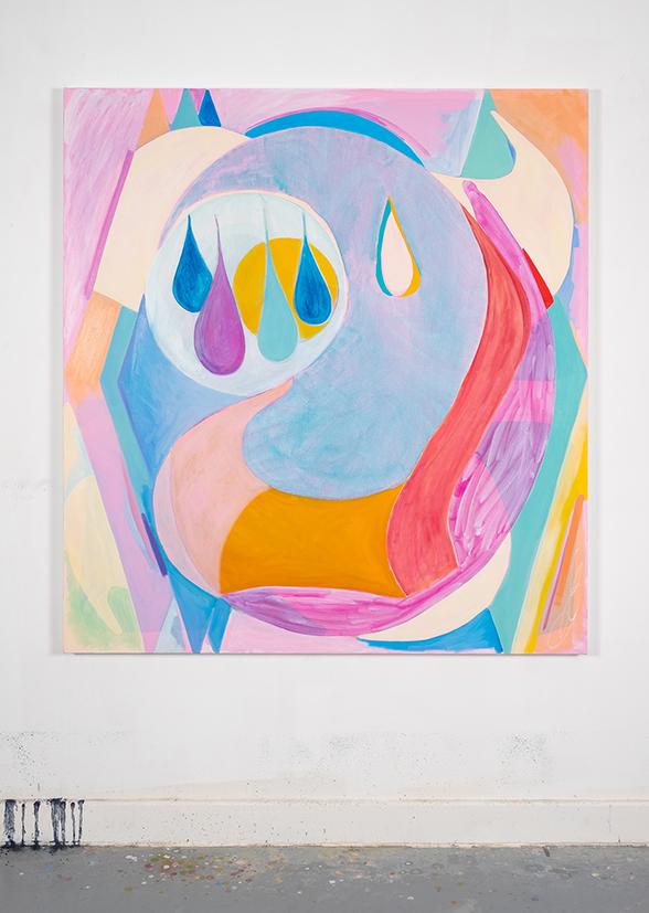 Breath  2018 Oil on canvas 140 x 130 cm
