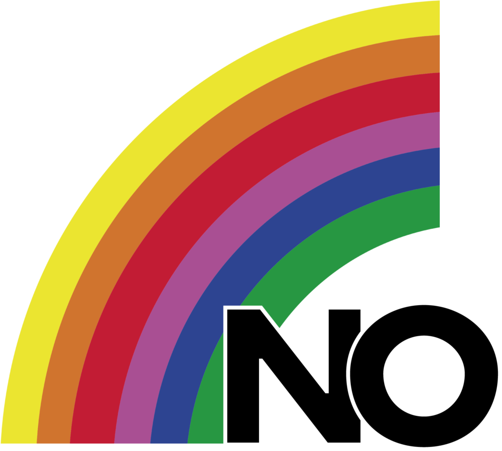 The logo for the No campaign for the 1988 plebiscite in Chile, via Wikipedia
