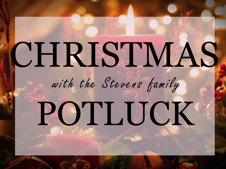 Christmas Potluck.Joy Christmas Potluck Trinity