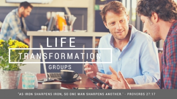 """Christian men need one another. There is strength in relationships that are built around support. Life Transformations Groups will help you connect with others for the purpose of spiritual growth. Choose when and where, with a friend(s) you can trust! Fill out the form below to find out more!  """"Encouraging one another to grow in Christ!"""""""
