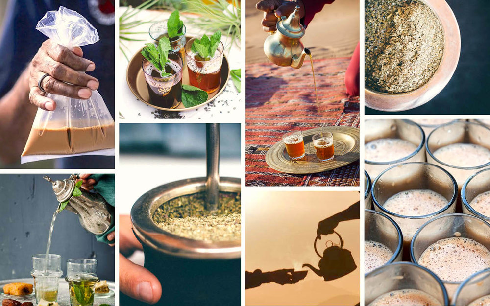 tea-collage