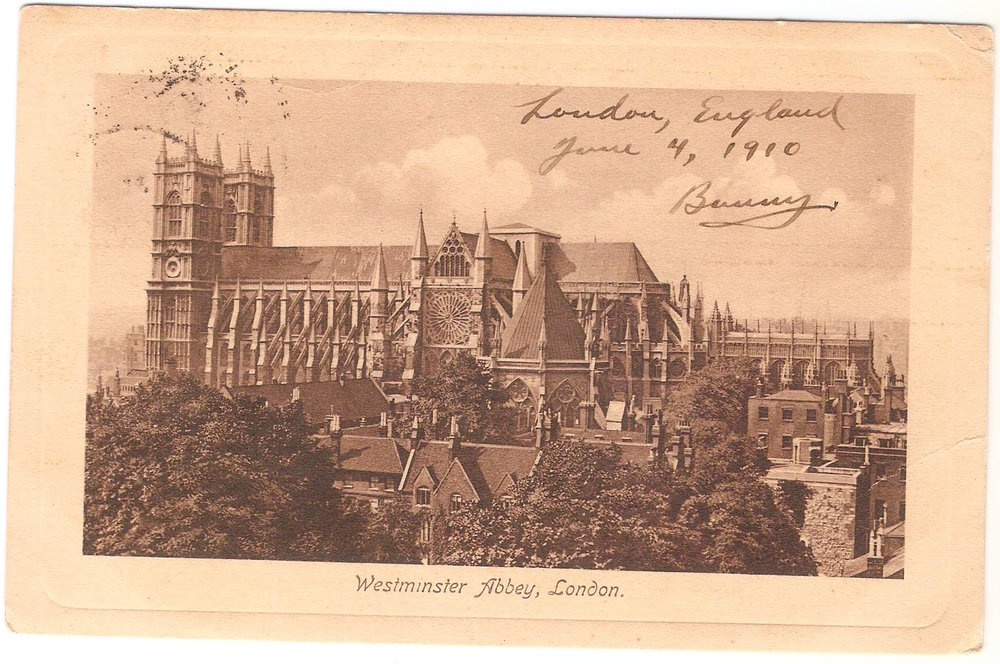 June 4, 1910. Westminster Abbey, London.