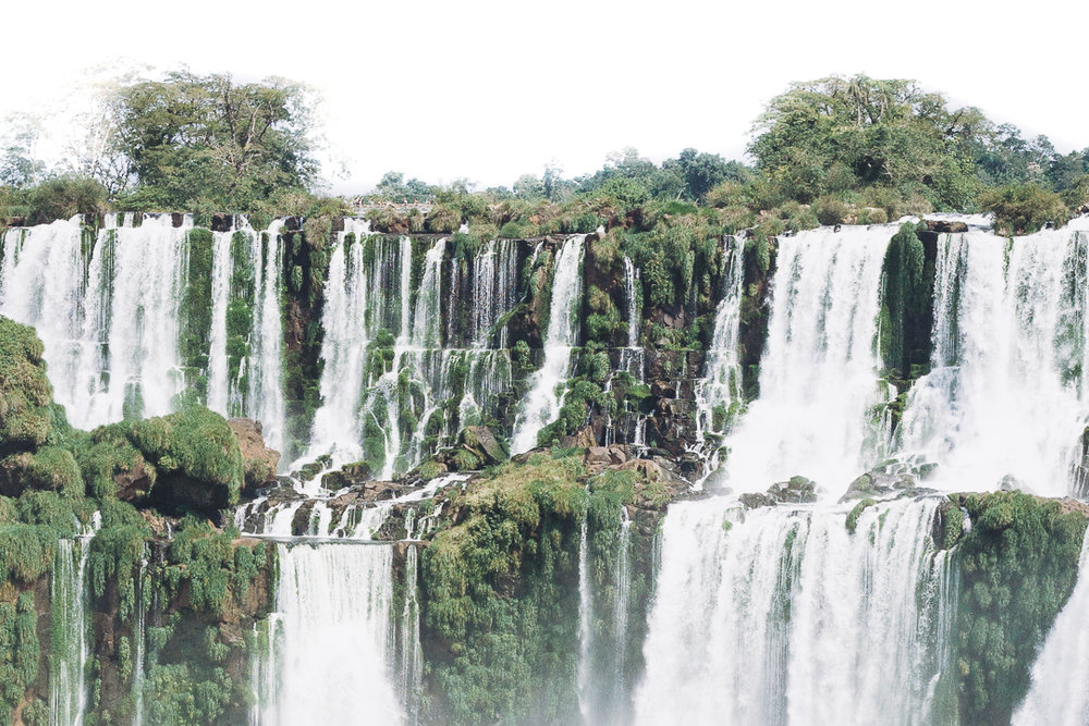 iguazu falls - A visceral experience of raw power and earthly beauty, a total of 275 individual terraced waterfalls.