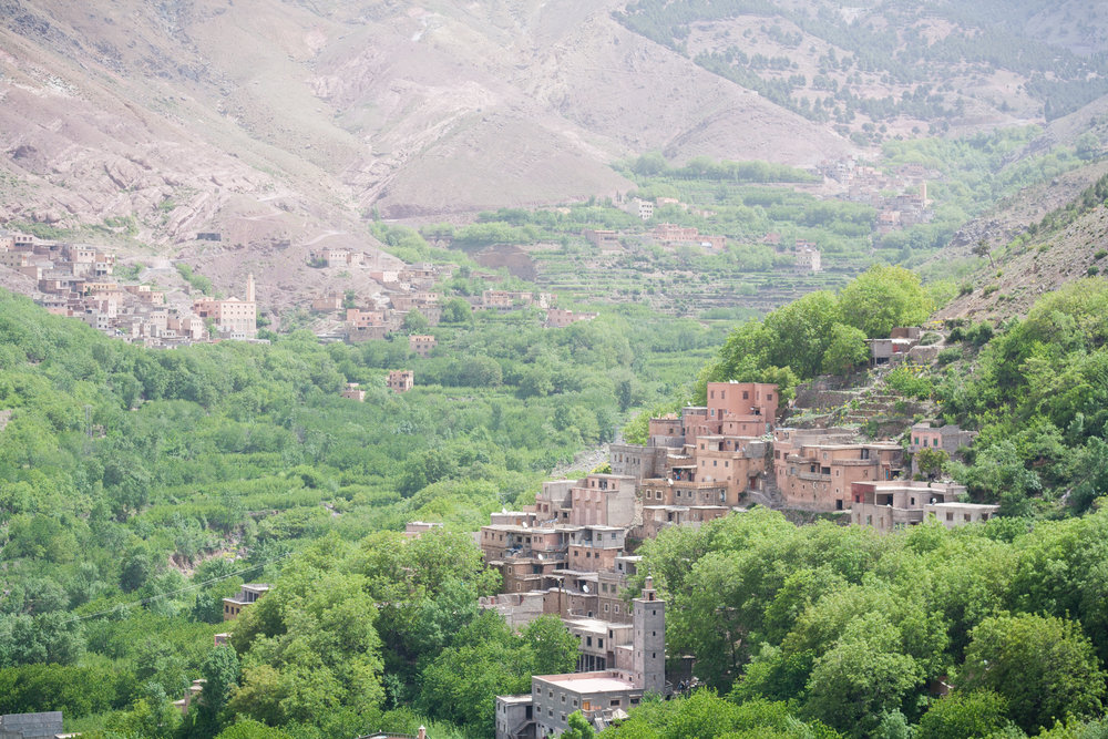 High Atlas Mountains - Morocco's berber heartland, the High Atlas is home to North Africa's highest peak, dotted with remote adobe villages and dramatic scenery.
