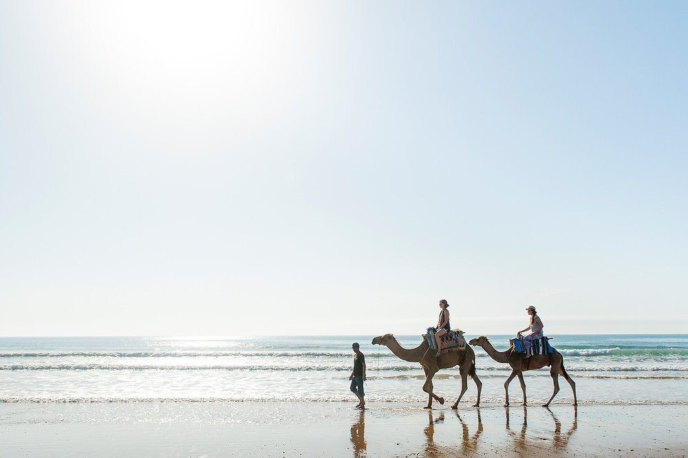 Essaouira - A charming fishing town with fort-like kasbahs and winding streets filled with local crafts and laidback cafes.