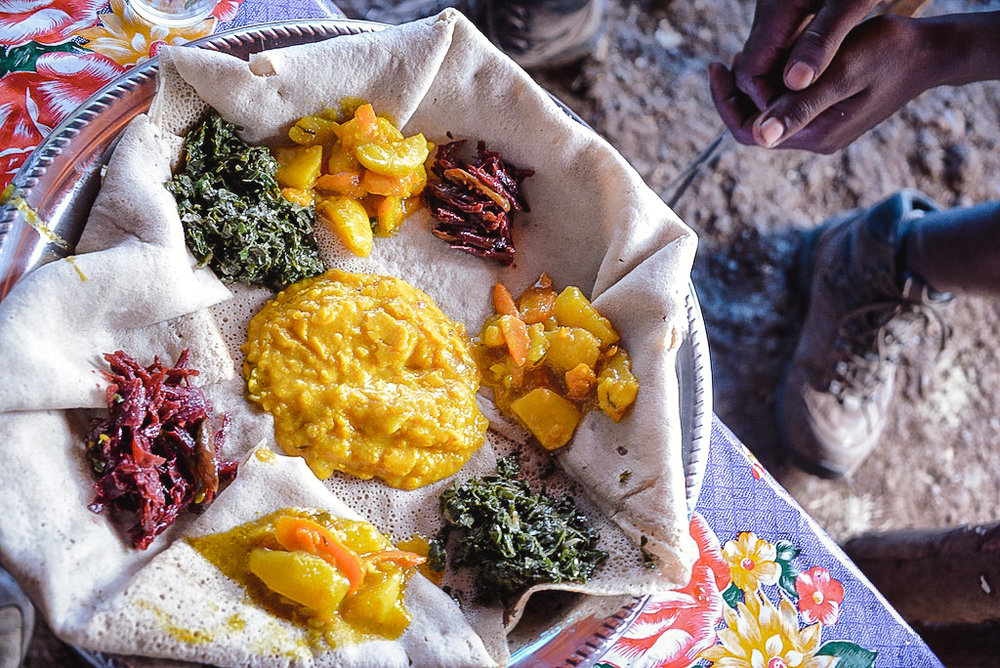 DISH BY DISH - Accompanied by a brilliant local chef, shop for ingredients at the local market and learn how to prepare Ethiopia's most popular dishes, including Tibs and Enjira. Discover the variety of spices and delve into the emerging culinary world of Ethiopia.