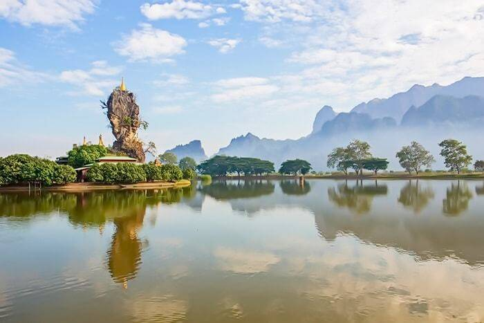 hpa-an - Home to the Kayin minority, Hpa An is the gateway to forgotten cave temples and the stunning Burmese countryside.