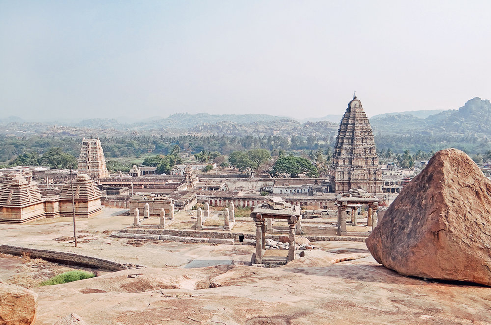 HAMPI - An ancient realm of myths and Gods, Hampi's other-worldly landscape is dotted with the evocative ruins of the last great Hindu kingdom of South India.