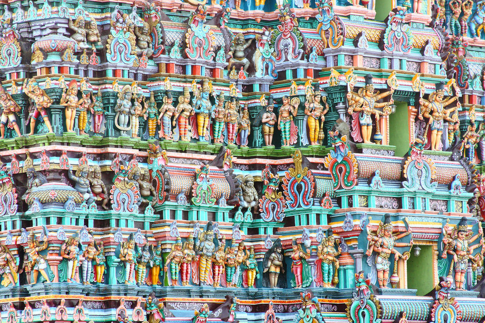 Madurai - One of the oldest cities in India, Madurai is a culturally-vibrant city often visited by Hindu Pilgrims for the intricate and colourful temples of Meenakshi.
