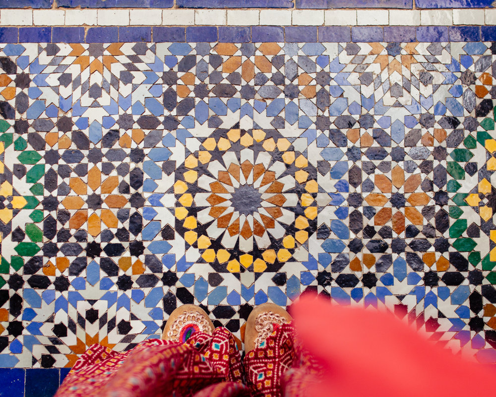 Morocco - Moorish mosaics and patterns are the ultimate expression of art and spirituality coming together in the Islamic world. Delve into the world of Islamic art and architecture with experts in the ancient palaces and universities of Morocco.