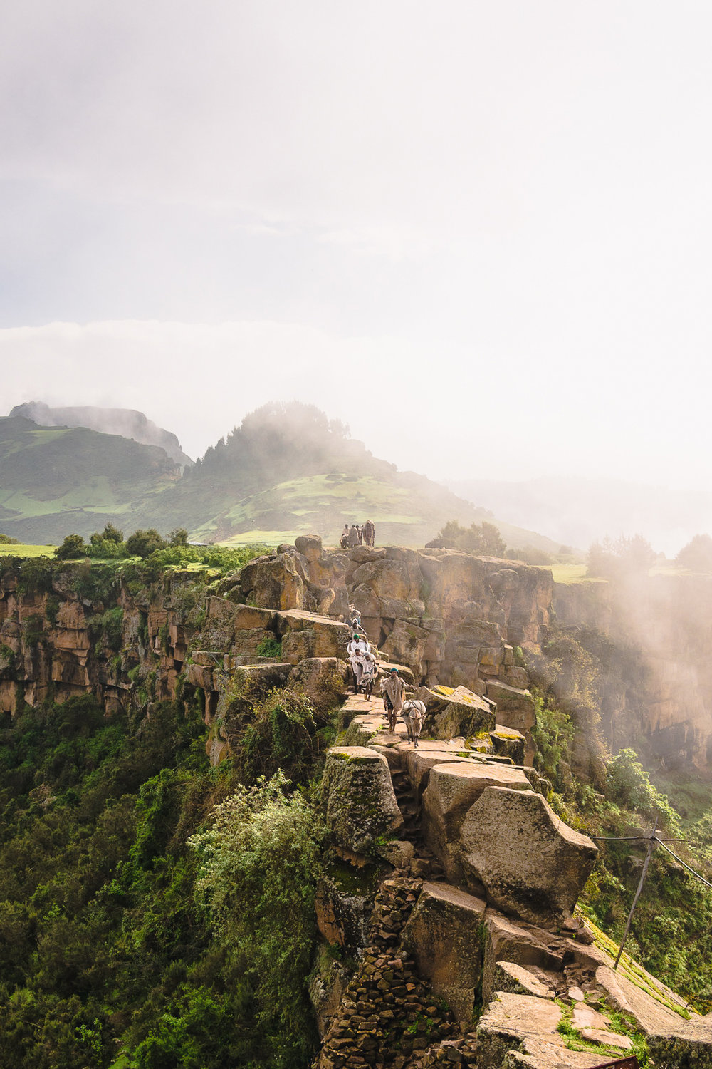 ETHIOPIA - Ethiopia's Tigray and Afar regions call on the adventure seekers. The Danakil depression is an other-worldly landscape of hotsprings, volcanoes and desert. In Tigray, ancient churches hewn into the canyon cliffs demand a series of challenging hikes for the scenic rewards.