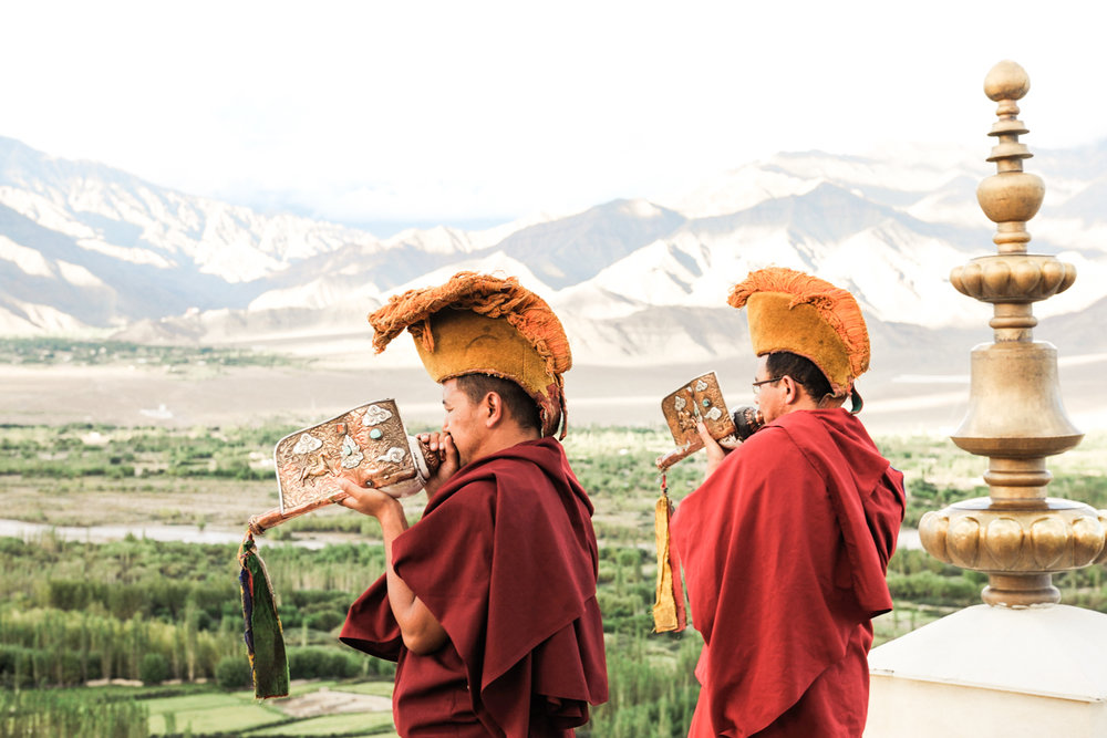 Kashmir & Ladakh - Delve into Tibetan Buddhism practices in Ladakh, receive personal guidance from a Llama, and partake in prayer rituals, oracles, and seasonal spiritual festivals.