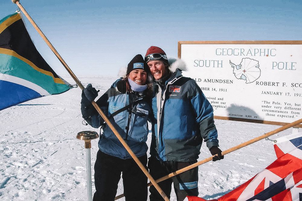 SOUTH POLE MILESTONE - Follow in Roald Amundsen's legendary footsteps and become one of the few to have set foot on Earth's lowest point, where there is no South, East or West.