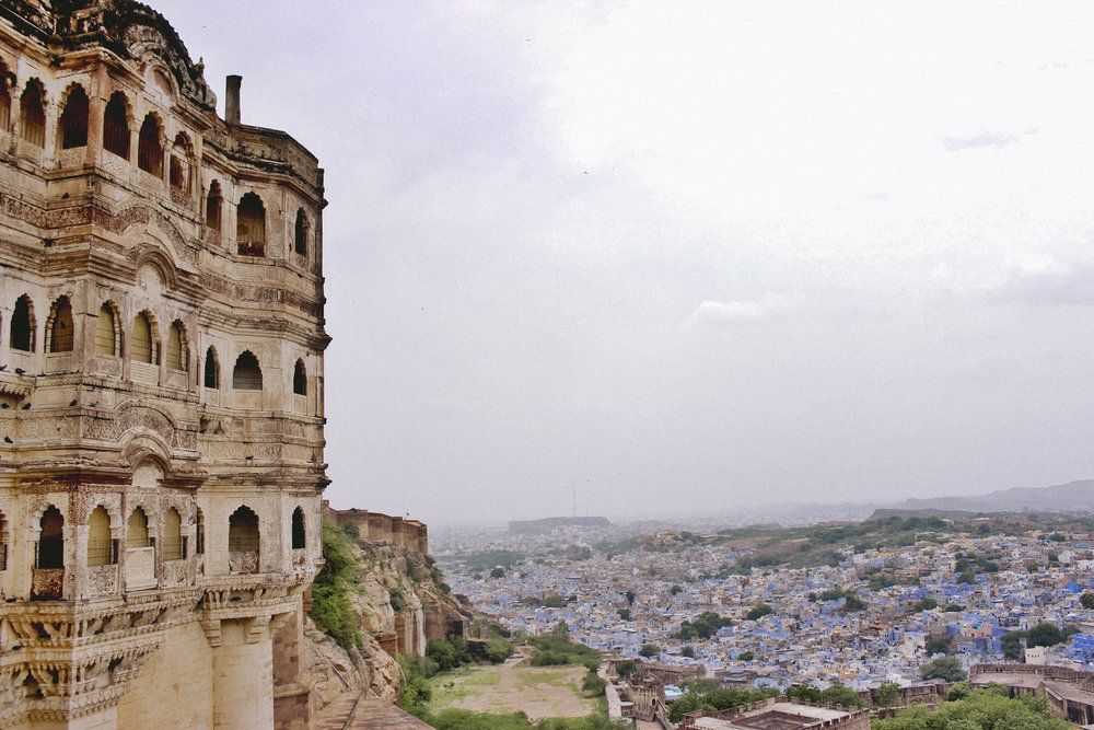 Jodhpur - The Blue City of India calls for travelers willing to get lost in its winding streets, stretching along the 16th century wall and leading to unexpected bursts of color, incense and temples.