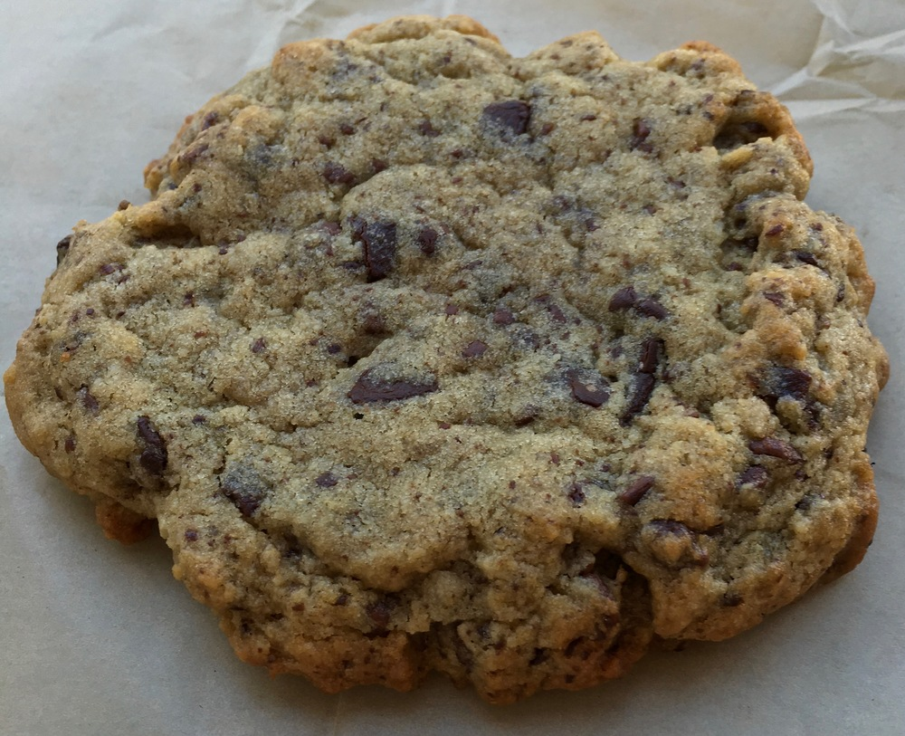 chocolate chip cookie from Flour & Co.