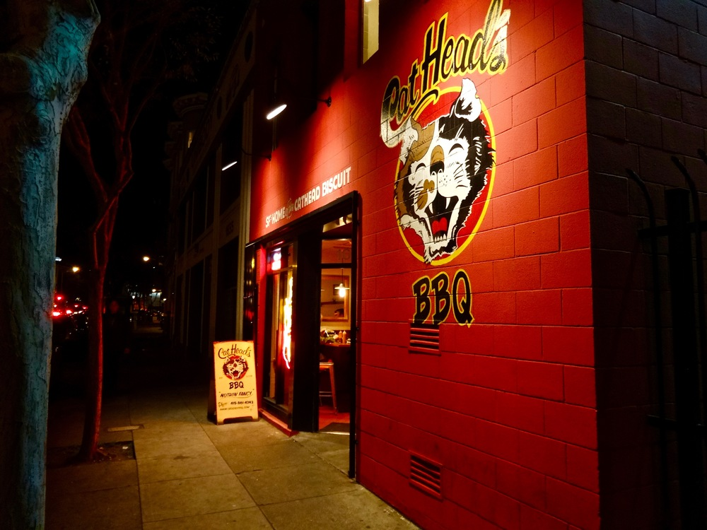 Cat's Head BBQ in SOMA
