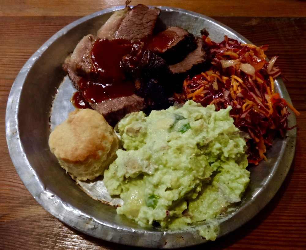 brisket plate and sides