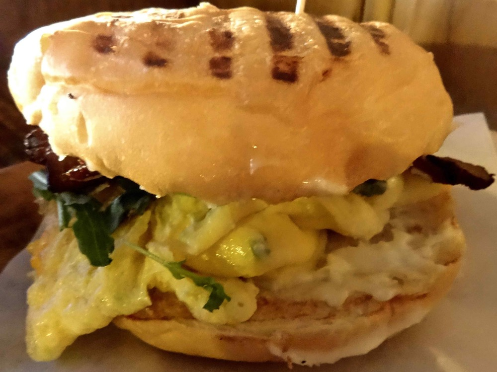 The Grove breakfast sandwich