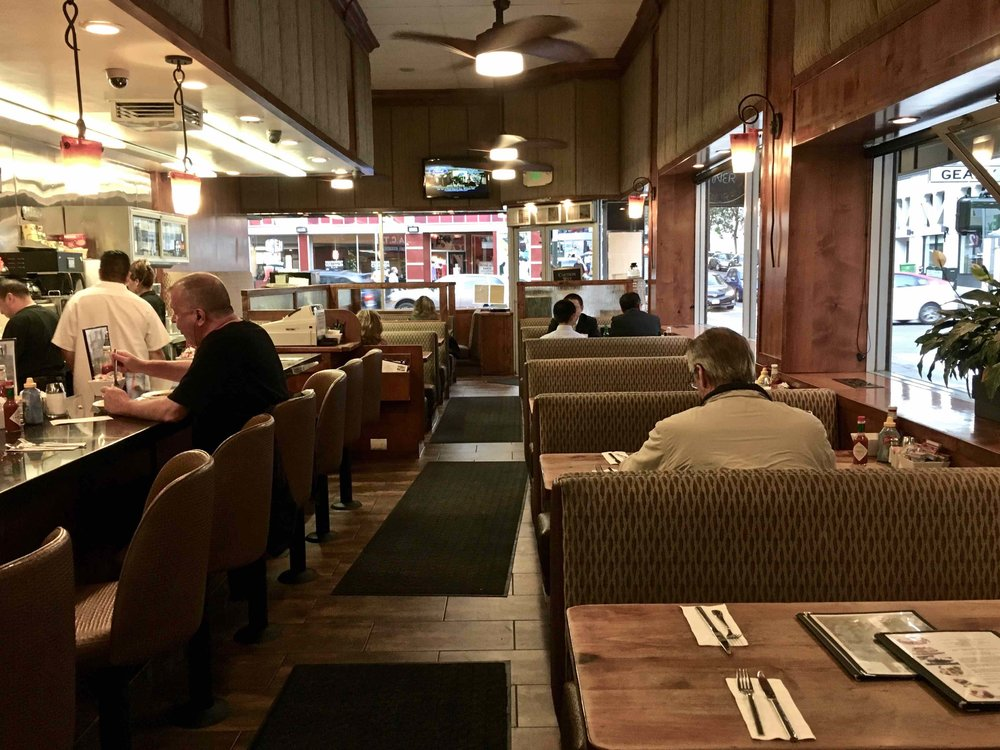 Inside Pinecrest Diner