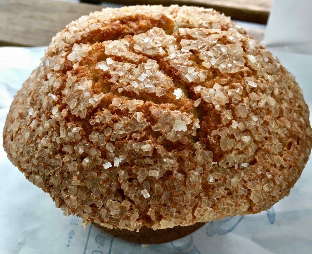 strawberry cream cheese muffin