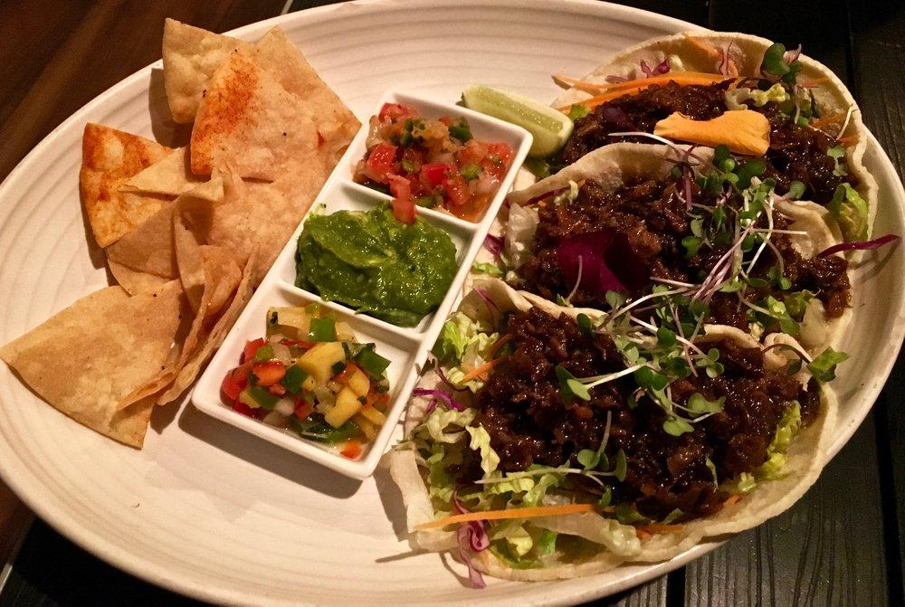 short rib tacos $18