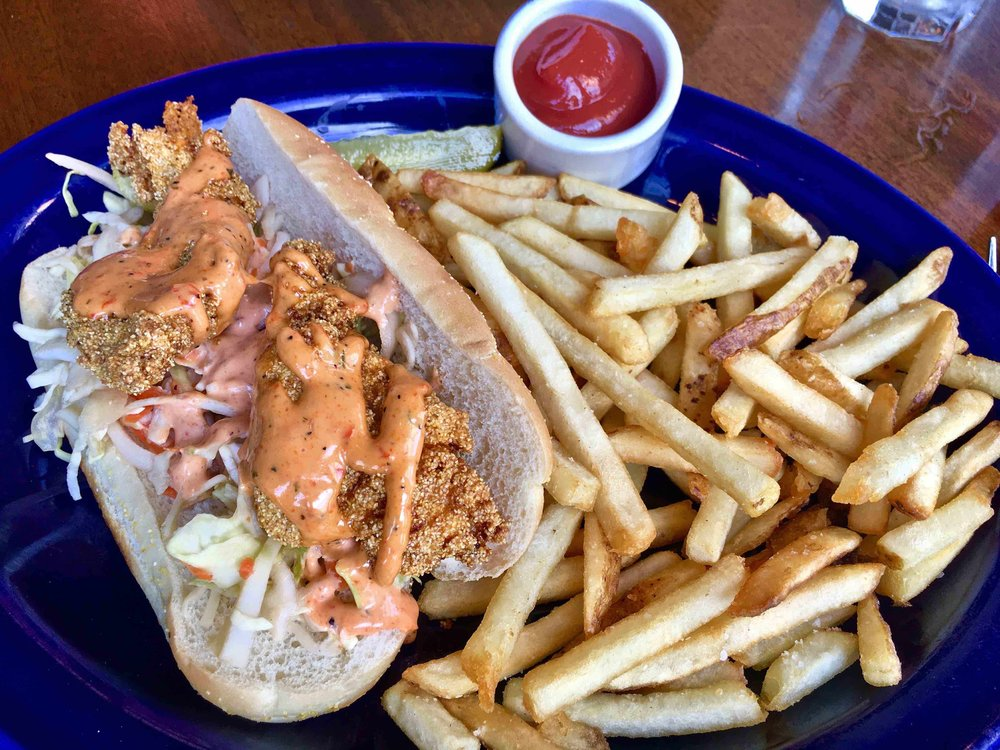 catfish po'boy