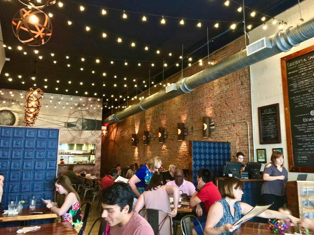 inside Luna Rotisserie & Empanadas