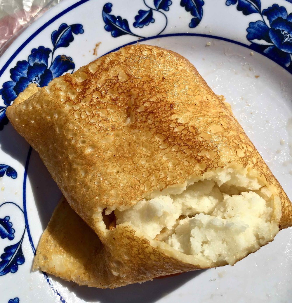 potato blintz