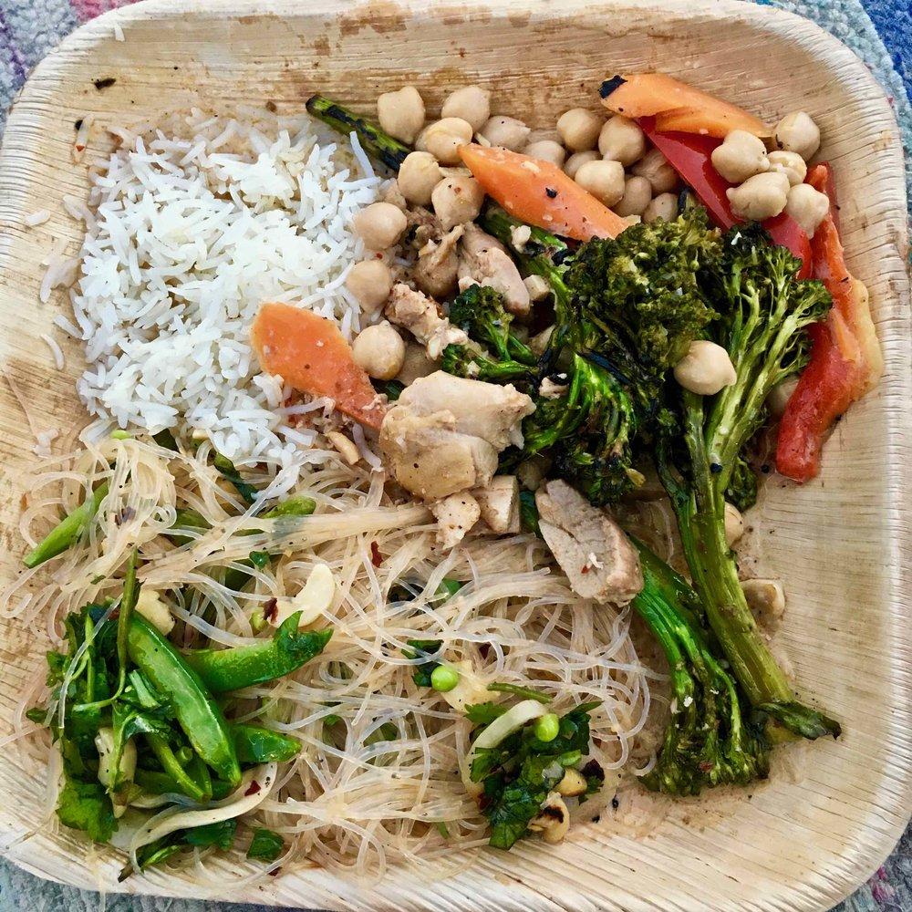 combo dinner plate