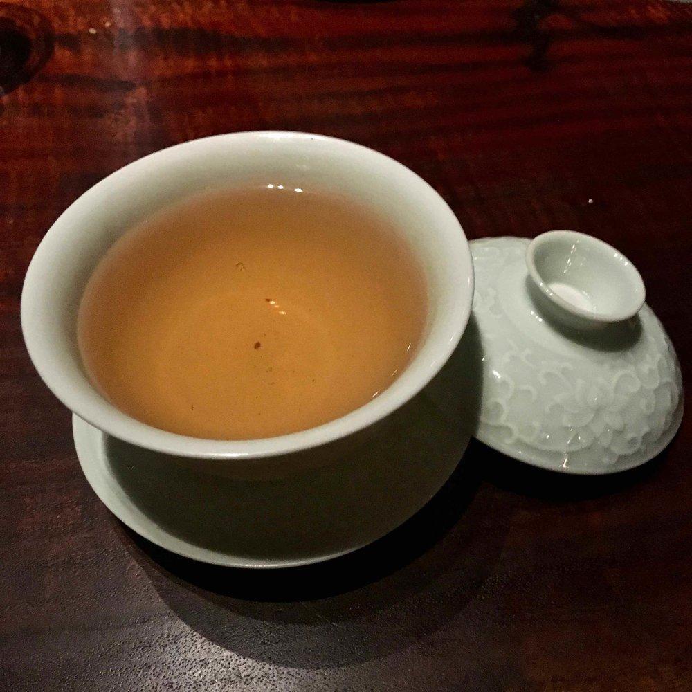 barley or buckwheat tea