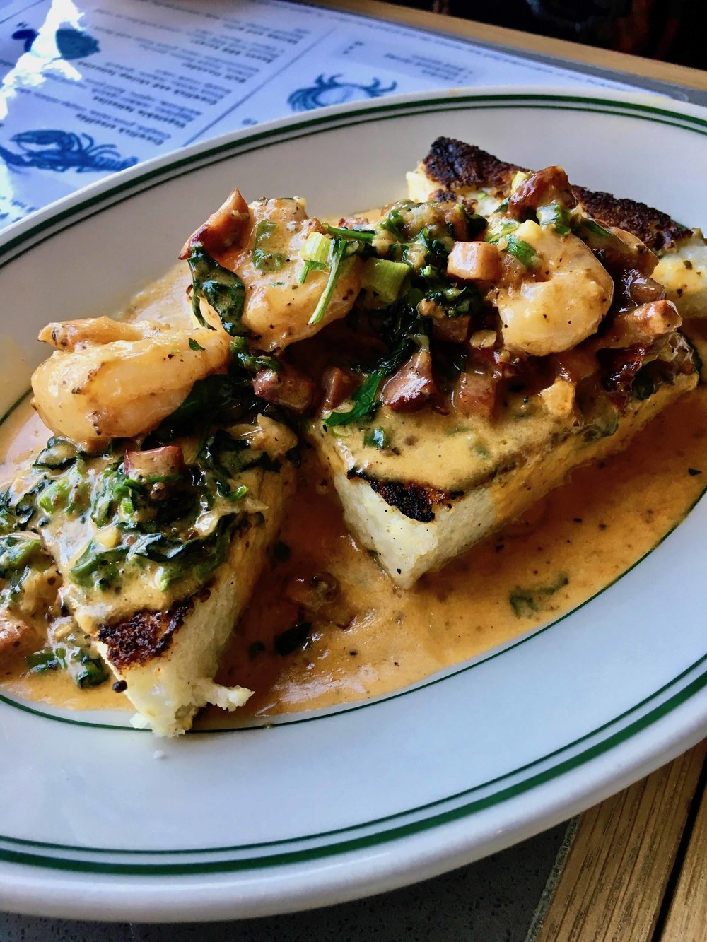 shrimp and grits $19