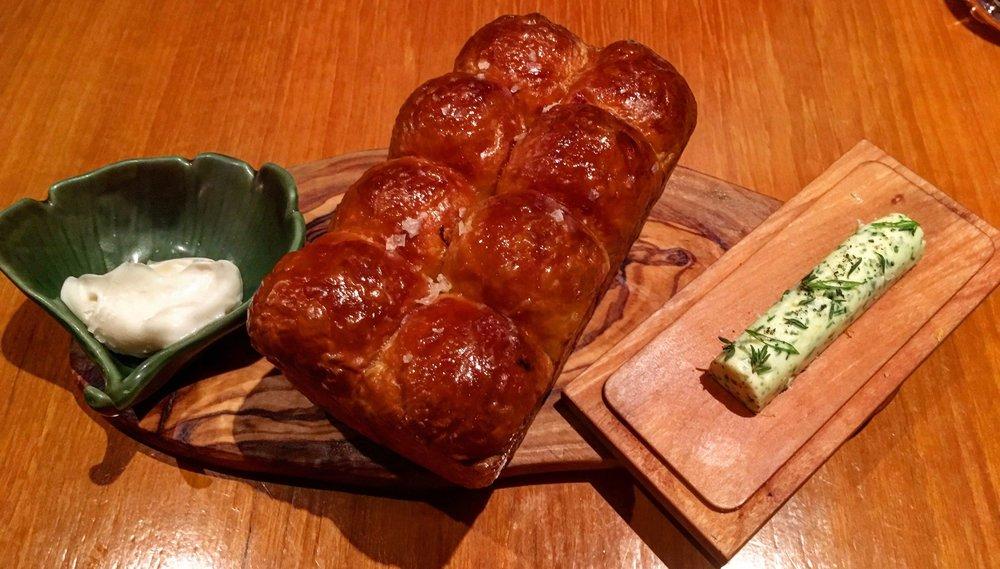 brioche and steak fat butter