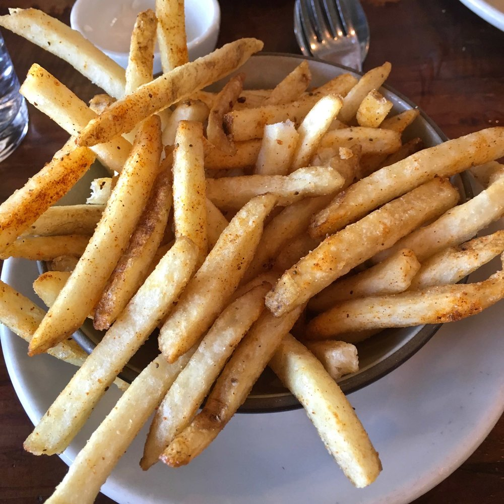 Old Bay french fries $4