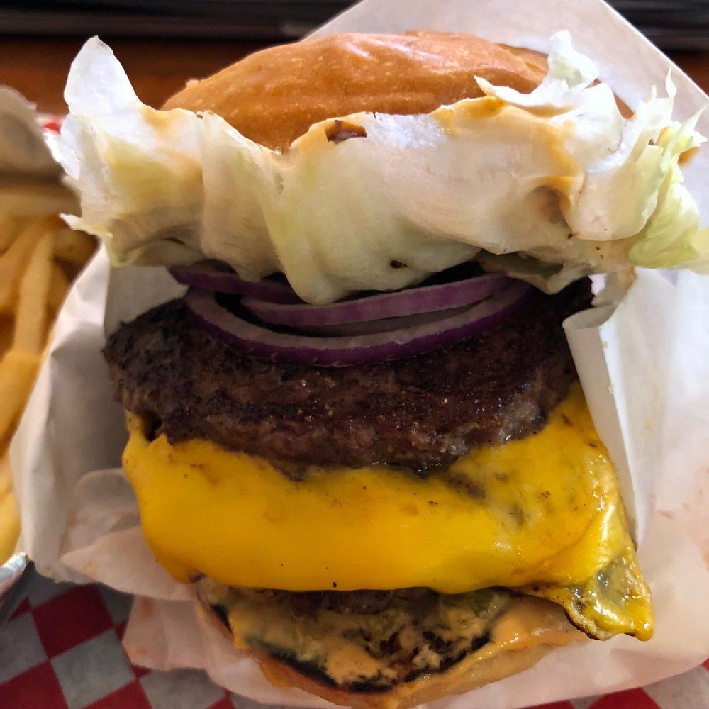 double cheeseburger $7.99