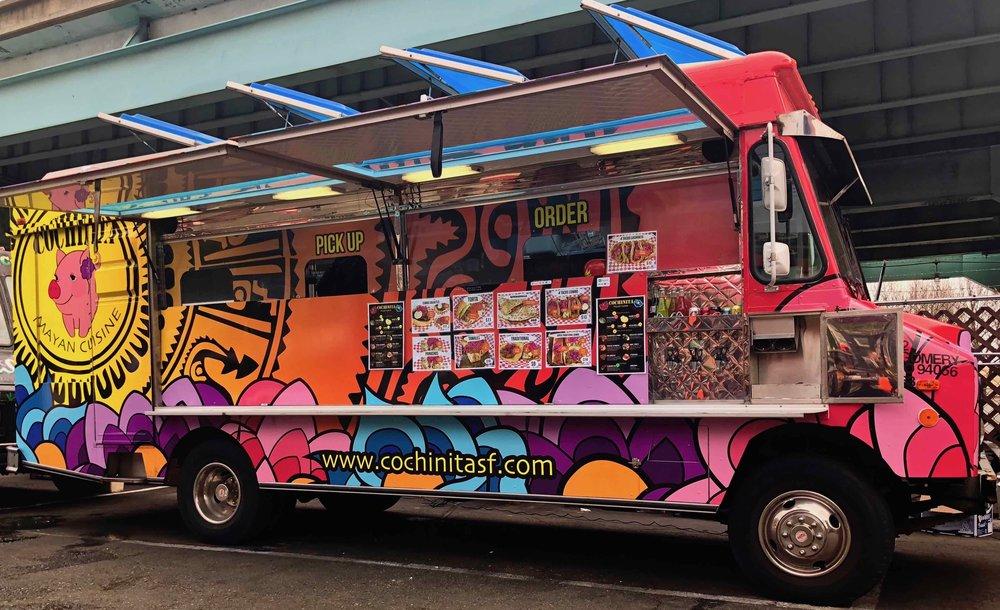 Cochinita food truck