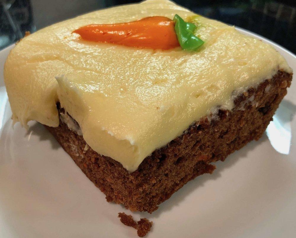 carrot cake $2.99