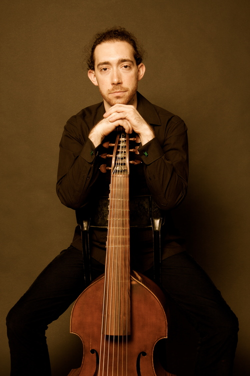 Developing a varied career as performer, composer/arranger, and scholar, Andrew Arceci performs regularly on the viola da gamba (viol), violone, and double bass throughout North America, Europe, and Asia. In the United Kingdom, he has appeared with the Orchestra of the Age of Enlightenment, Cöthen Baroque, and Oxford Baroque. In the United States, he has collaborated with the Boston Camerata, Handel & Haydn Society, the Arcadia Players, Tempesta di Mare, Harmonious Blacksmith, The Folger Consort, the Washington Bach Consort, and the Washington National Cathedral; he currently serves as principal bassist with Boston's L'Académie Baroque Orchestra and Chicago's Baroque Band. He has given workshops at the University of Oxford (UK), the University of Cambridge (UK), the University of Edinburgh (UK), the Narnia Arts Academy (Narni; Italy), the Taipei National University of the Arts (Taiwan), Burapha University (Thailand), and Bloomsburg University of Pennsylvania (USA). Currently, he directs the Collegium Musicum at Wellesley College, serves on the Winchendon Cultural Council, and works as a freelance artist throughout North America, Europe, and Asia.