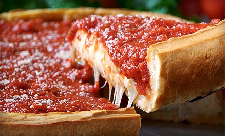Chicago Style Thick Crust Pizza