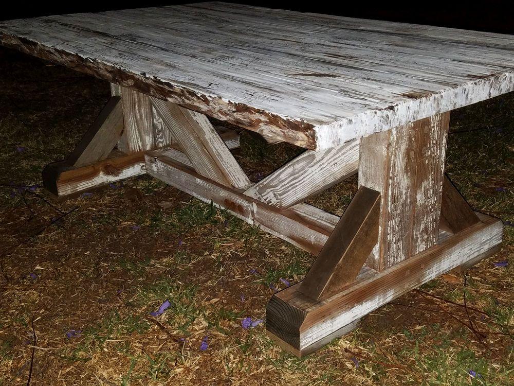 Reclaimed Farmhouse Coffee Table