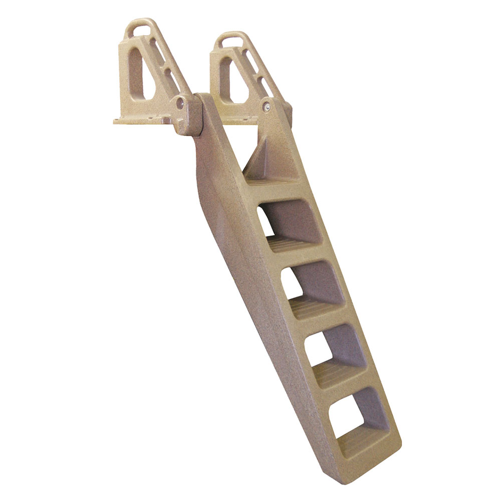 TechStar Rotomolded Heavy Duty Stair Step Ladder