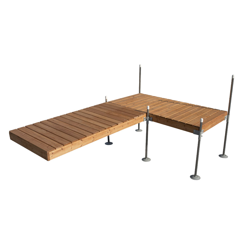 12' L-Shaped Dock