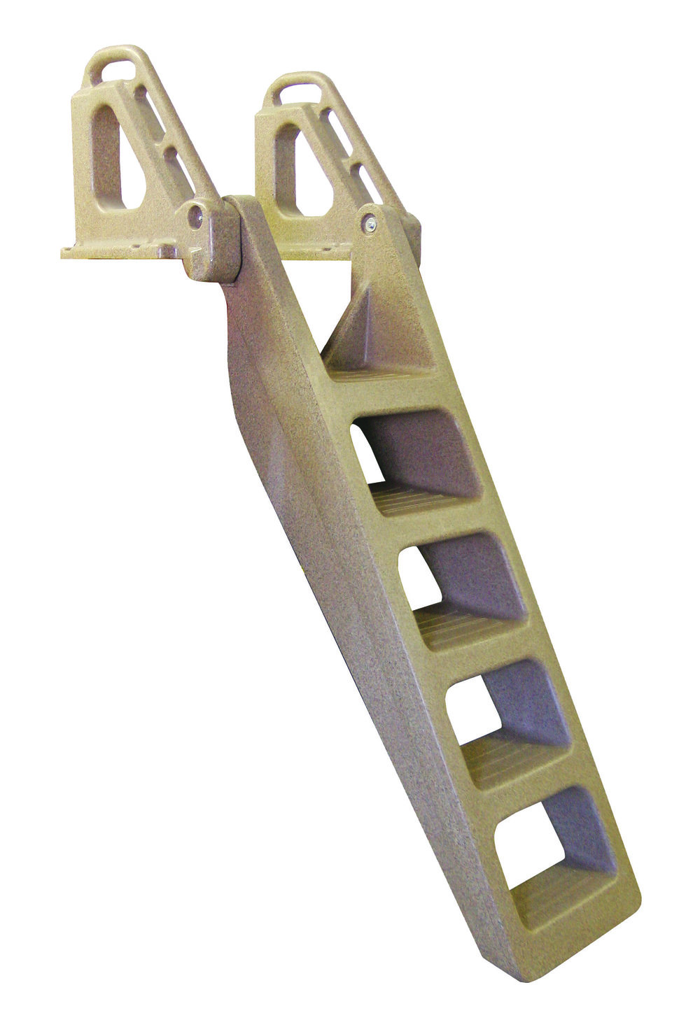 Techstar Rotomolded Heavy Duty Stair Step Ladder Tommy Docks