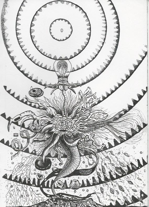 La Máquina de Flores Negro tres (The Black Flower Machine 3)
