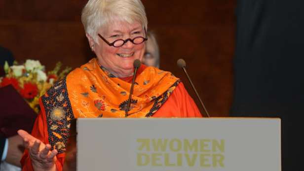 Jill Sheffield, Founder and President of Women Deliver.  Source: Women Deliver.