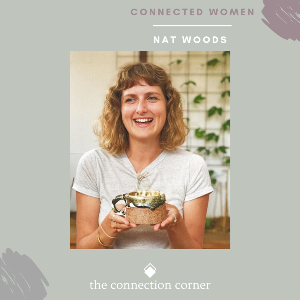 Nat Woods - Co-founder of @cleancoastcollective + @the_corner_palm. She lives and breathes community, creativity, creating positive change, and living a conscious lifestyle.@nat.woods_